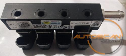 rampa inyectores valtek o rail gnc 5ta generación axis italy