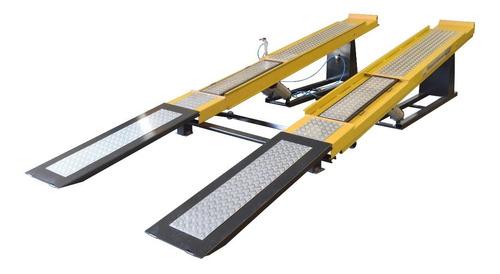 rampa para alinhamento pneumática  4.5 ton- jm máquinas