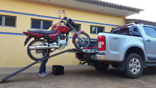 rampa para carregar motos categoria média mod: 2000/165 ac