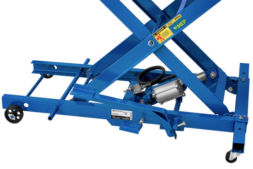 rampa para moto hidráulica e pneumática 450kg frete 6147
