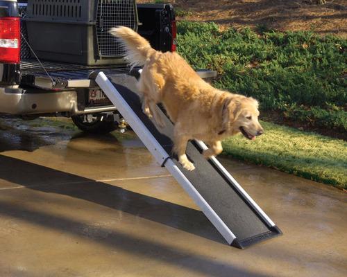 rampa para perros  para subir a camioneta