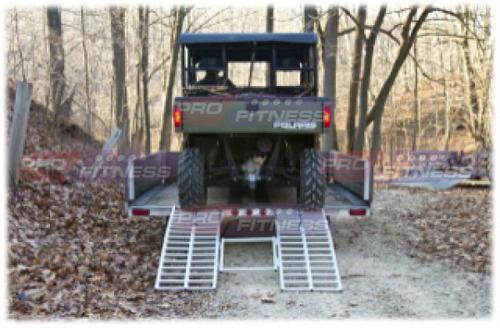 rampa para utv atv o carrito de golf subir a remolque hm4