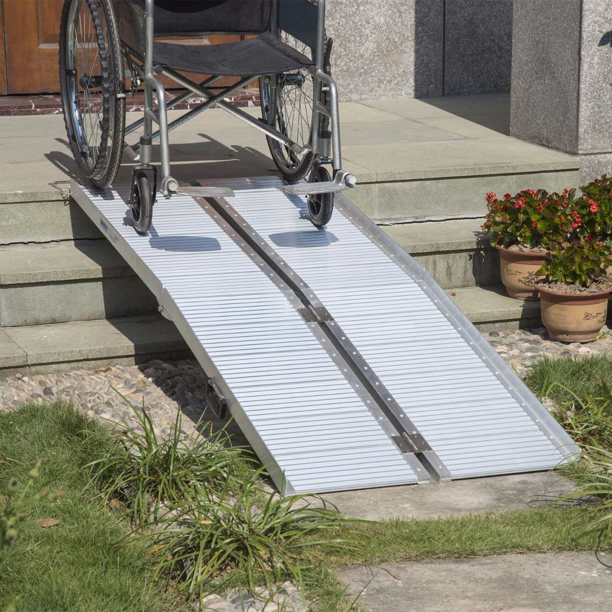 rampa port til para silla de ruedas 0504 5 en On rampas para sillas de ruedas