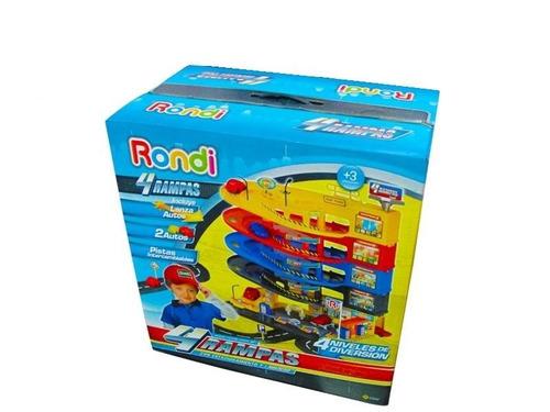 rampa rondi 4 niveles c/pista estacionamiento lavadero