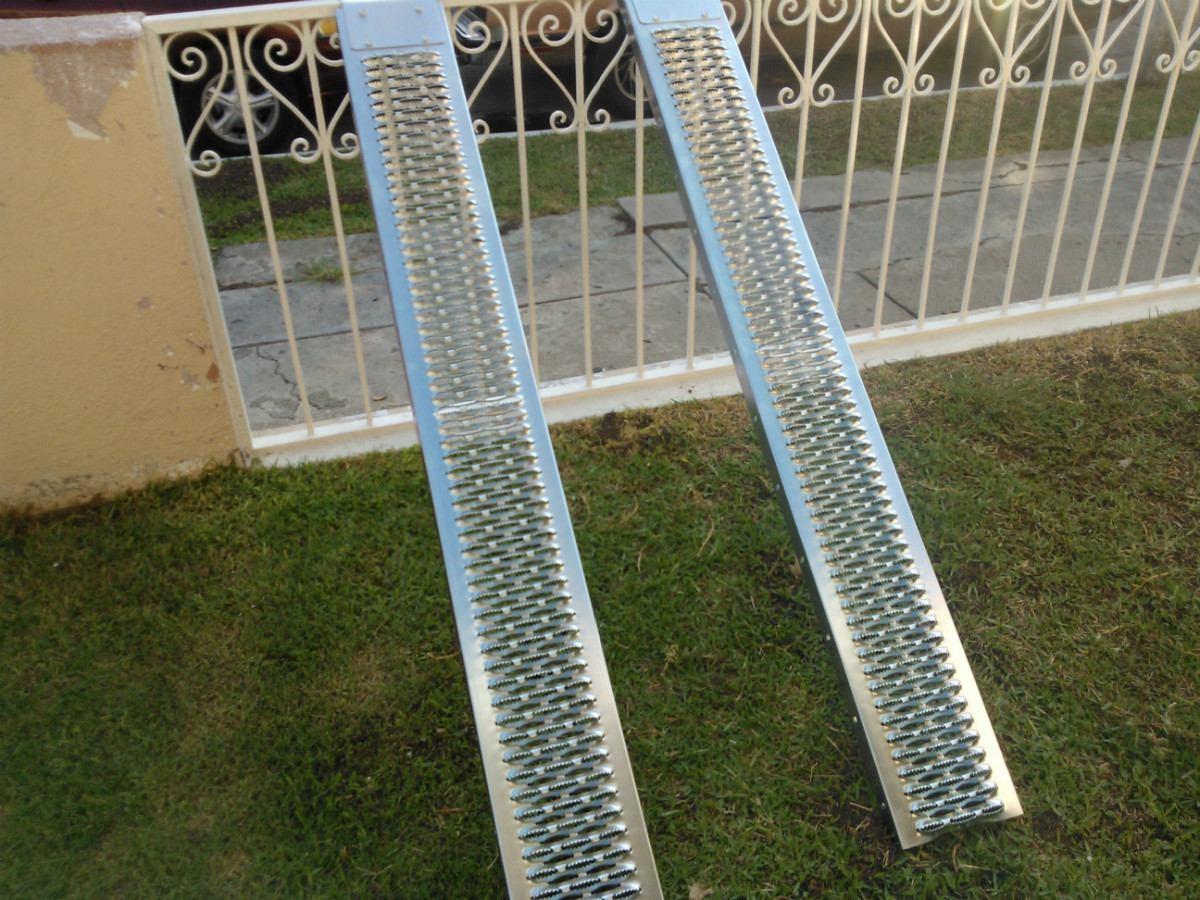Rampas de acero galvanizado pueden asta 450 kgs 1000 lbs - Acero galvanizado precio ...