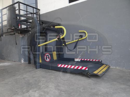 rampas hidráulicas para personas con capacidades diferentes