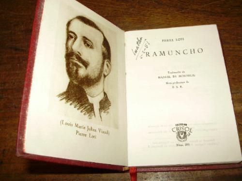 ramuncho pierre loti edit. m. aguilar coleccion crisol 1950