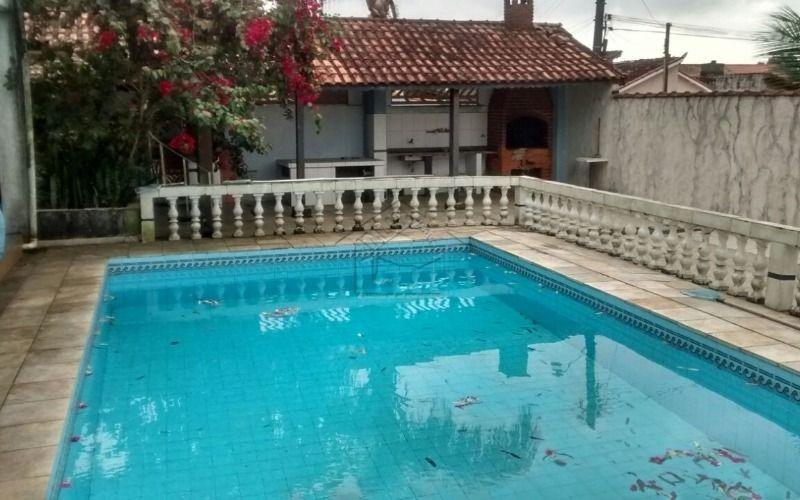 rancho 3 dormitórios com piscina e churrasqueira,confira