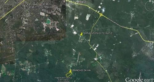 rancho de 24 hectáreas en venta