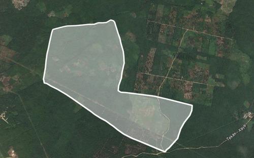 rancho en venta en san jose tekax, 170 hectareas