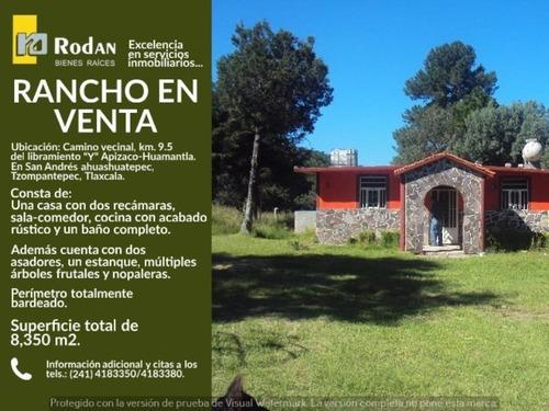 rancho en venta san andres ahuashuatepec