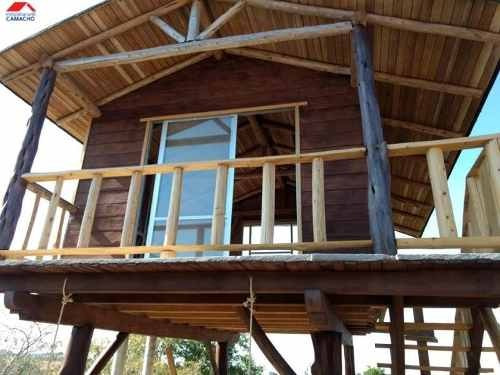 rancho en venta suchitlan comala, tres cabañas aereas, algibe, incluye alberca, vista panoramica