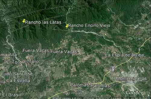 rancho las lata 2,870 hectareas montemorelos nuevo leon