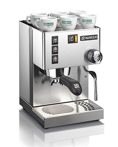 Rancilio Silvia Espresso Machine Con Marco De Hierro Y Panel ...