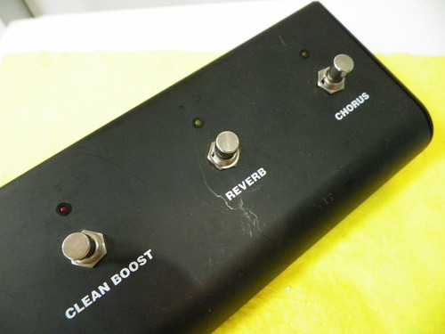 randall 5 button footswitch for g2 models with stereo chorus
