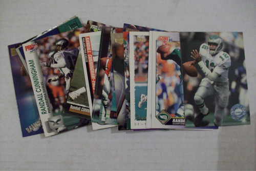 randall cunningham lote nfl cards