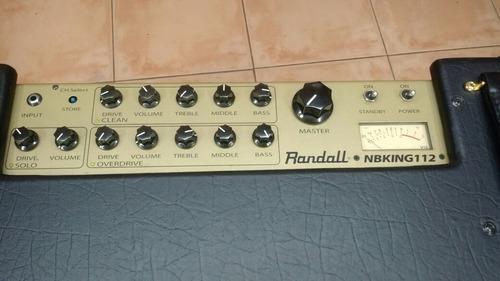 randall nbking 112 a valvulas de 30 watts usado