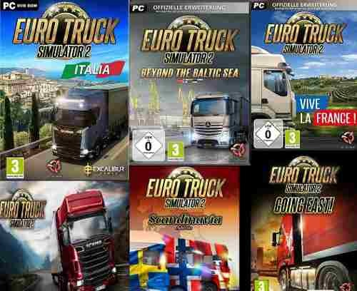 Random Steam Key + Euro Truck Simulator 2 Mega Colección + 65 Dlcs - Juego  Pc Windows + Regalo
