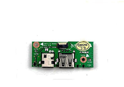rangale new vga lan dc power jack usb in board for asus x401