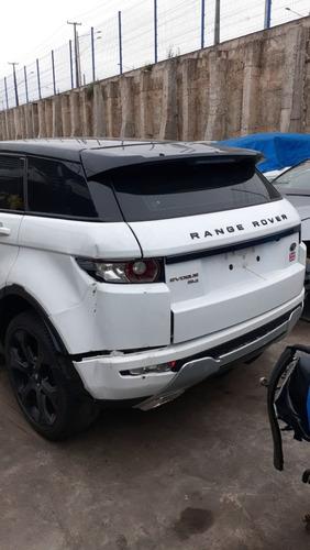 range rover evoque 2014 sucata para venda de peças