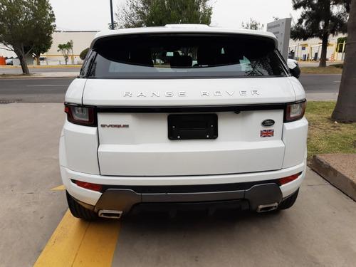 range rover evoque hse dynamic 2016 garantia un año