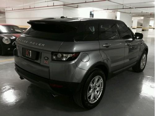 range rover evoque pure tech 2012 cinza extremamente nova
