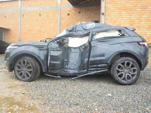 range rover evoque s4i - sucata peças motor cambio interior