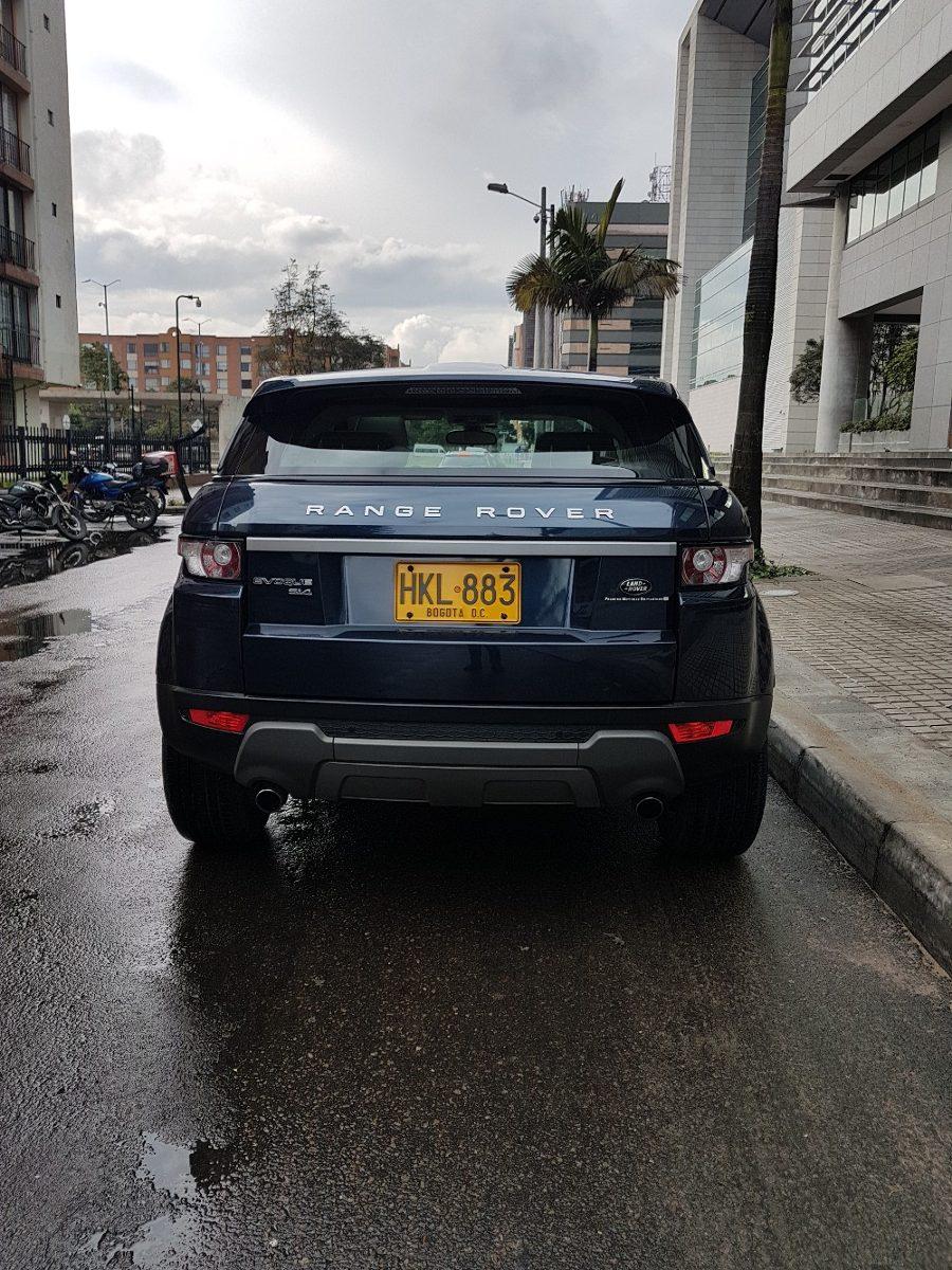 Land Rover Range Rover Evoque Si 4 105 000 000 En Tucarro