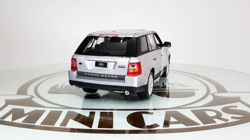 range rover sport plata 1/18 maisto autos escala metal colec