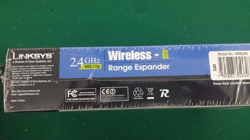 range spander 2.4 ghz linksys