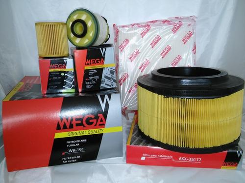 ranger 2.2 / 3.2 cuatro filtros - kits de filtros wega