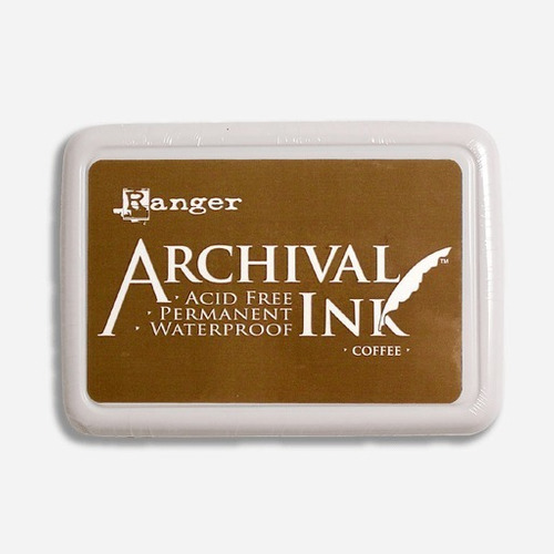 ranger archival ink coffee ink pad