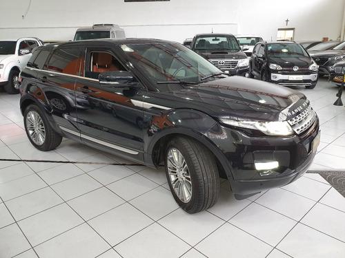ranger rover evoque prestige blindada 2012 preta n iii-a