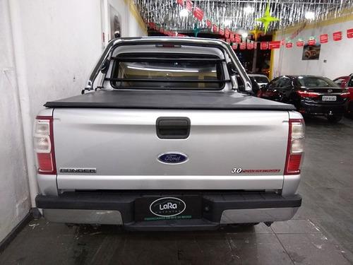 ranger xlt 3.0 diesel 4x4 2011 prata cab dupla