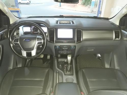 ranger xlt 3.2 diesel 4x4 2016/17 cinza(único dono)