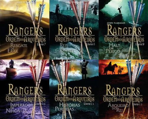 rangers ordem dos arqueiros - vol  7 ao 12 - 11 a 17 anos