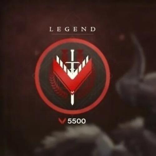 rank lenda 5500 destiny 2 todas as plataformas