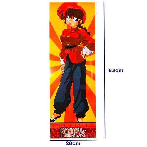 ranma 1/2 y medio poster largo anime