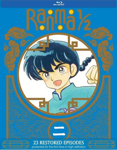 ranma 1/2 y medio set 2 edicion especial blu-ray importado