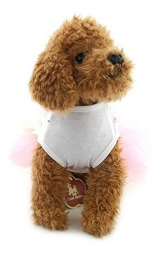 ranphy pequeño perro / gato princesa tutu vestido polka dot