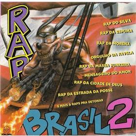 Rap Brasil Vol 2   Lp   Coletanea  Rap / Hip Hop / Funk