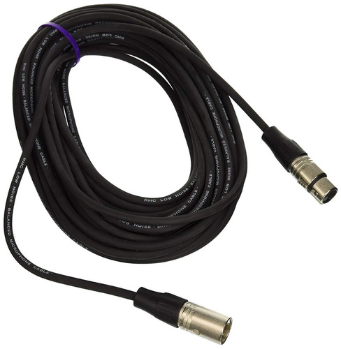 rapco horizon nm1-3 cable xlr - xlr de 1 metro