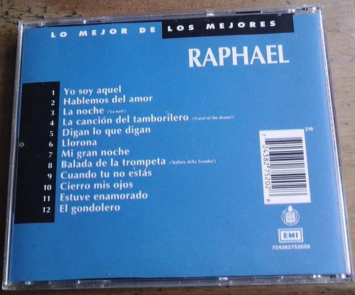 raphael lo mejor de los mejores cd unica edicion 1993  bvf