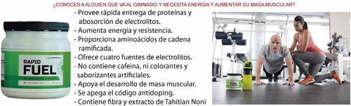 rapid fuel proteína, energía y aumento de masa muscular