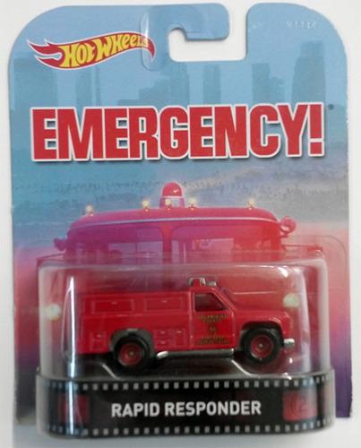rapid responder hot wheels retro