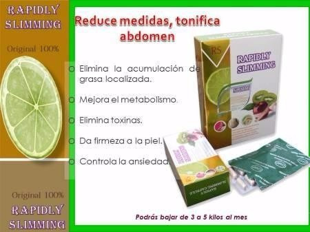 rapidly slimming potente quema grasa bajar peso 100% natural