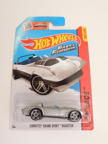 rapido furioso corvette coleccion miniatura hot wheels
