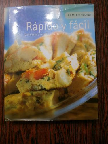 rápido y fácil la mejor cocina recetas ed. parragon exc est!