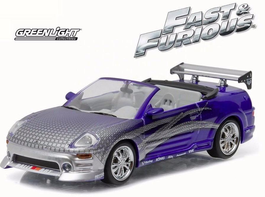 2001 Mitsubishi Eclipse Spyder >> Rapido Y Furioso Roman´s 2001 Mitsubishi Eclipse Spyder 1:43 - $ 490.00 en Mercado Libre