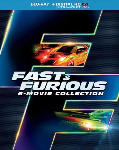 rapidos y furiosos - fast & furious 6-movie collection